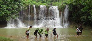Air Terjun Coban di Desa Jukung Kecamatan Bulu.