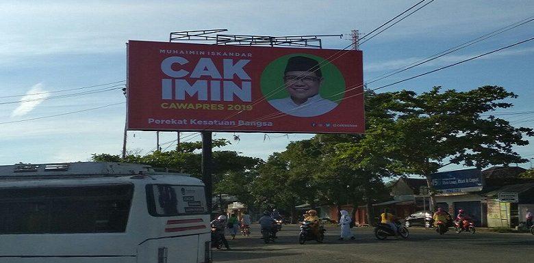 Baliho Cak Imin Muncul Lagi, Panwas Pemilu Sampaikan Aturan Berbeda