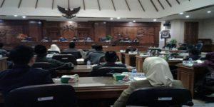 Kursi – kursi di DPRD Rembang, berawal dari pembagian Daerah Pemilihan.