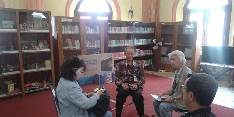 Sejarawan Belanda Ke Rembang, Kaget Saat Tahu Gedung Kompi Menghilang