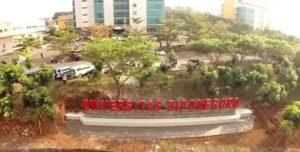 Kampus Undip Semarang menjadi salah satu lokasi program kuliah gratis yang digulirkan Pemkab Rembang (youtube).