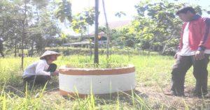 Salah satu sudut lahan GOR Mbesi Rembang.