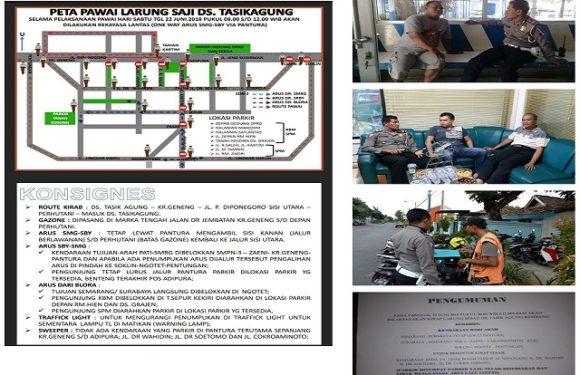 Syawalan Dan Pawai Larung Sesaji, Polisi Siapkan Rekayasa Lalu Lintas