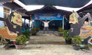 Salah satu TPS di Desa Pohlandak, Kecamatan Pancur.
