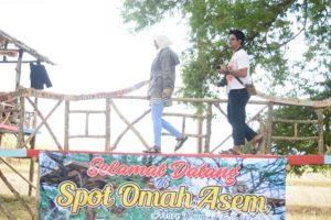 Spot Omah Asem di sebelah utara Desa Sridadi, Rembang.
