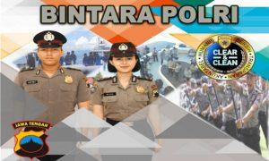 Ilustrasi penerimaan anggota Bintara Polri.