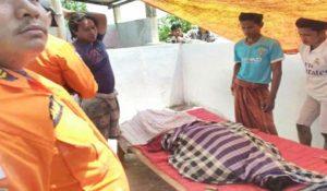Mayat korban Kardi ditemukan nelayan yang tengah melaut, Kamis pagi.