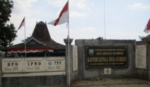 Balai Desa Sumber Kecamatan Sumber.