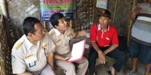 Kegiatan pemetaan hama penyakit ikan di Dusun Matalan Desa Purworejo, Selasa pagi (03/04).