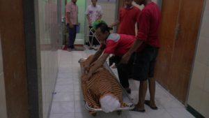 Tahanan Rutan yang tewas saat menjalani perawatan di rumah sakit dr. R Soetrasno Rembang, Edo Ibnu Darmanto.
