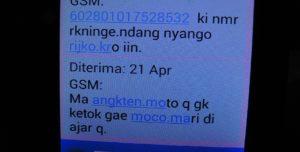 Sebelum meninggal dunia, Edo Ibnu Hartanto mengirimkan nomor rekening kepada ibunya. Nomor rekening tersebut untuk tujuan mengirim uang sewa kamar tahanan.