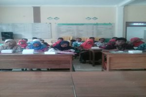 Suasana penilaian dalam lomba desa tingkat Kabupaten Rembang, belum lama ini.