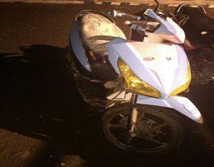 Sepeda motor korban meninggal dunia, Kasri.