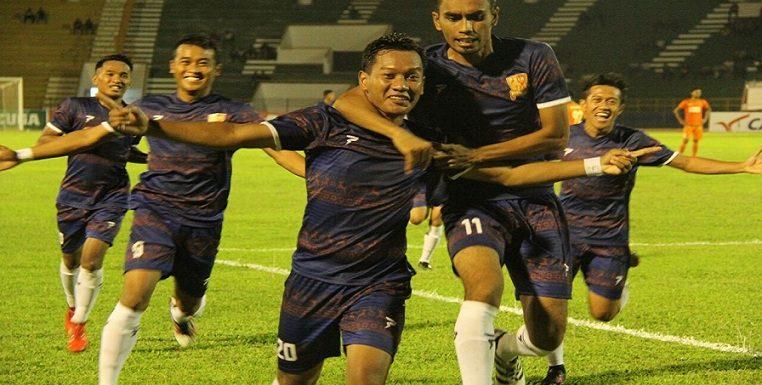 "Raih Poin Perdana, Rudi ""Bogel"" Cetak Gol Penyelamat"