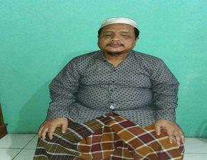 Sunardi, warga Desa Pandangan Wetan Kecamatan Kragan. Meski tak bisa melihat, namun berhasil menjadi hafidz Alqur'an.