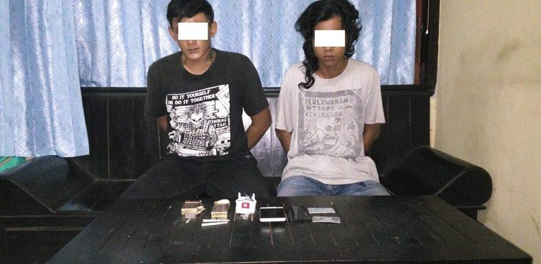 Berawal Dari Kecurigaan Terhadap Mobil BRV, 2 Pemuda Dibekuk