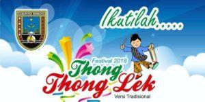 Festival thong – thong lek di Rembang, kembali berlangsung tahun ini.