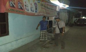 TKP Curanmor di Desa Ngemplak, Kecamatan Lasem.