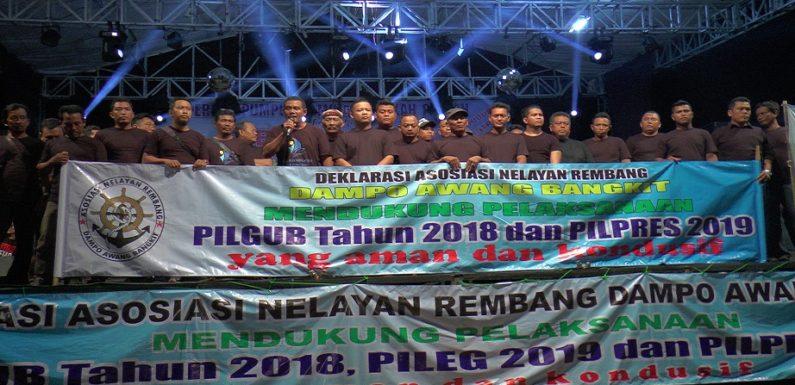 Asosiasi Nelayan Gelar Deklarasi, Dukung Pilkada Damai & Tolak Politisasi