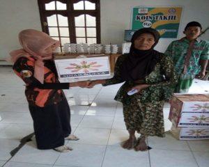 Koin Takjil yang digelorakan kelompok Sinar Mulya di Desa Suntri, Kecamatan Gunem. Sumbangan dari warga, kemudian diteruskan kepada Lansia tidak mampu.
