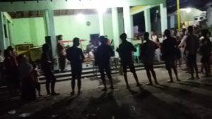 Sebelum lomba, salah satu group thong – thong lek di Rembang sibuk berlatih. (youtube).