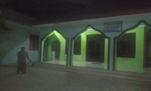 TKP Curanmor di depan Mushola Desa Soditan, Kecamatan Lasem.