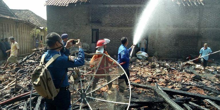 5 Rumah Terbakar, Polisi Ungkap Dugaan Penyebab