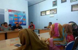 Jajaran Sekretariat KPU kabupaten Rembang siap menerima pendaftaran Caleg.