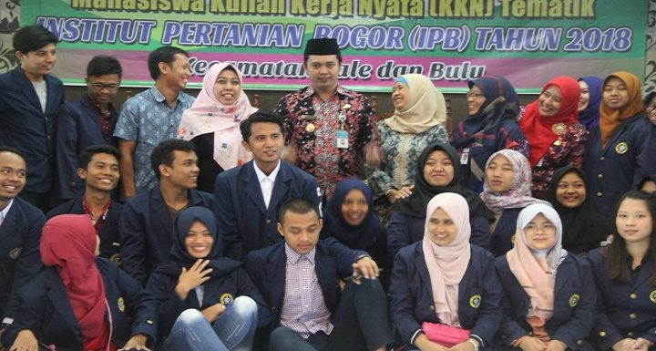 7 Desa Menjadi Sasaran KKN Mahasiswa IPB Bogor