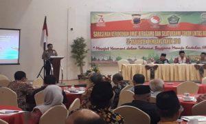 Suasana sarasehan FKUB Rembang, Kamis (23/08).