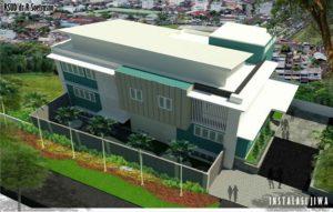Gedung instalasi jiwa yang akan dibangun di rumah sakit dr. R. Soetrasno Rembang.