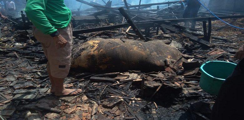 Kebakaran Di Dua Lokasi Berbeda, Sapi Ikut Mati Terpanggang