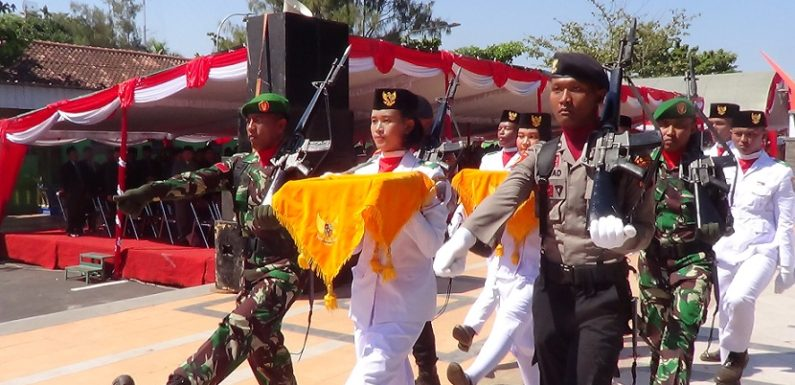 Mengenal Sosok Naftalena Patricia Delarosa, Remaja Pengibar Bendera