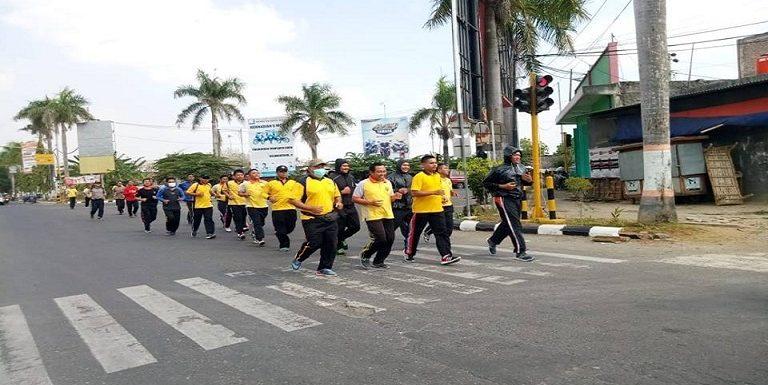 Berat Badan Over, Polisi Jalani Program Khusus