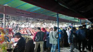 Suasana Rembang Expo di gedung Balai Kartini, sebelum penutupan.
