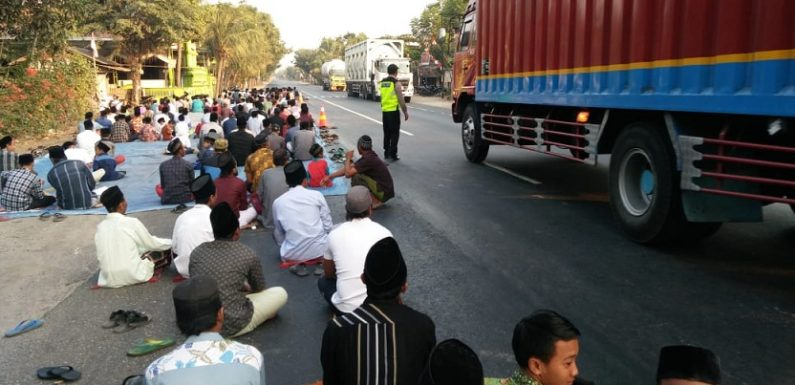 Sholat I'ed Di Jalur Pantura, Polisi Fokus Pengamanan