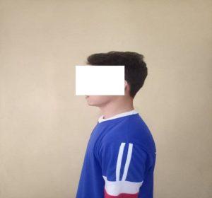 Tersangka pelaku, RK kini ditahan di sel Mapolres Rembang.
