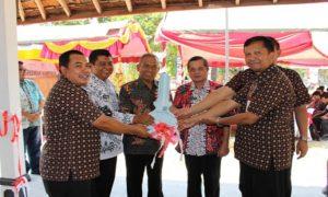 Peresmian kampus B AKSI yang dulunya merupakan bangunan Dekopin Kabupaten Rembang.