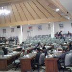Kehadiran anggota DPRD Rembang yang minim saat sidang paripurna, Jum'at pekan ini.