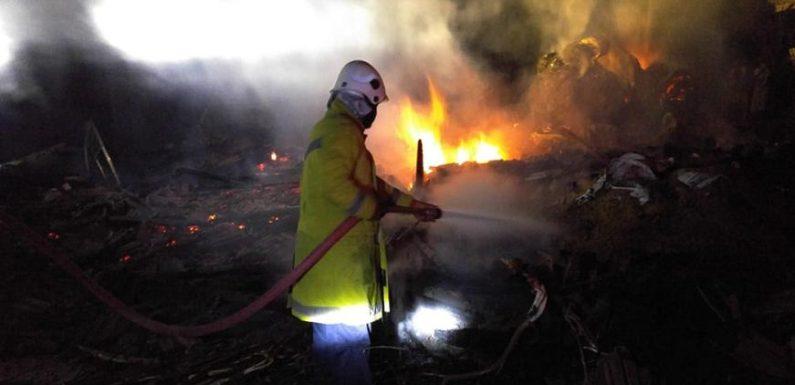 Detik – Detik Kronologis Kebakaran Dadapmulyo, 2 KK Kini Mengungsi