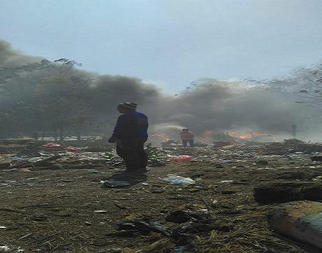 Yang Paling Dikeluhkan Warga Saat Kebakaran Melanda TPAS