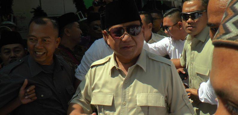 Bisa Selamat Saat Dikepung Musuh, Prabowo Bocorkan Jurusnya