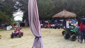Persewaan ATV di pinggir Pantai Karangjahe Rembang. (youtube).