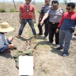 Polisi mendatangi lokasi kejadian, untuk mengidentifikasi jenazah korban, Kamis (04/10).