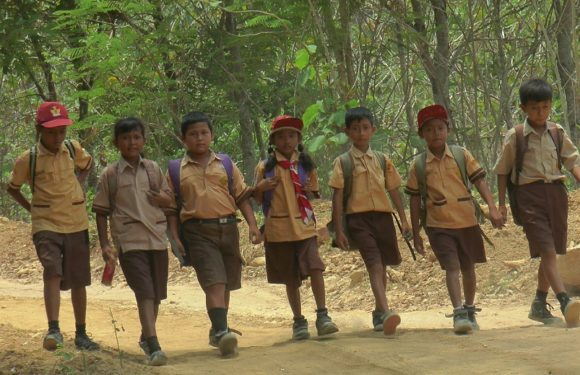 Demi Pendidikan, Siswa Jalan Kaki Menembus Hutan Tiap Hari