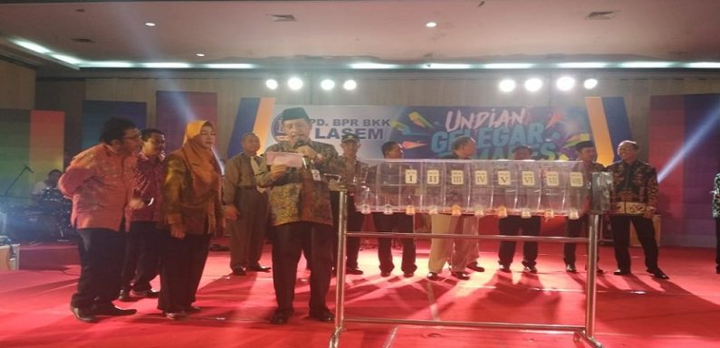 Gelegar Tamades PD. BPR BKK Lasem, Yang Dapat Rezeki Nomplok Mobilio Siapa Ya..?