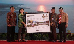 Suasana di sela – sela peluncuran aplikasi Enjoy Rembang, di pendopo Museum Kartini, Sabtu (27/10).
