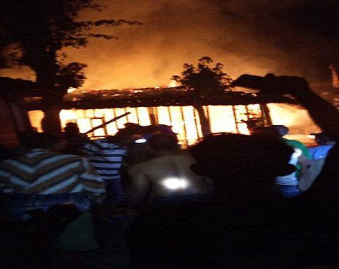 Kebakaran Ludeskan Rumah Janda, Anak Turut Jadi Korban