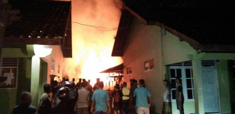 Kebakaran Besar Di Lingkungan Dalam Sekolah, Polisi Sebut Dugaan Pemicunya