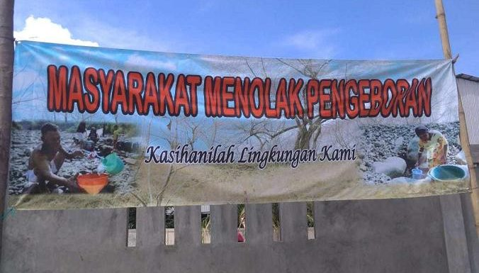 Polemik Pengeboran : Desa Buka Peluang, Dengan Sejumlah Syarat